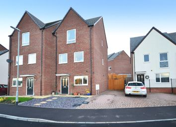 Thumbnail 3 bed semi-detached house for sale in Comet Avenue, Cross Heath, Newcastle-Under-Lyme