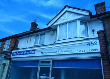 Thumbnail 1 bed maisonette to rent in St. Albans Road, Watford