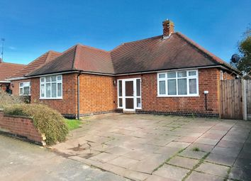 Thumbnail 2 bed detached bungalow for sale in Beechwood Avenue, Thurmaston, Leicester