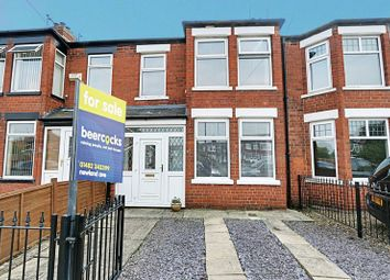 Thumbnail 3 bedroom terraced house for sale in Fairfield Road, Hull