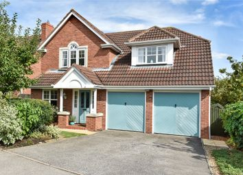 Thumbnail 4 bed detached house for sale in Peachwood Close, Grantham