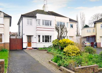 Thumbnail 3 bed semi-detached house for sale in Mersham Gardens, Goring-By-Sea, Worthing