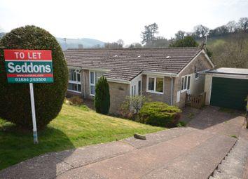 Thumbnail 3 bedroom bungalow to rent in Bourchier Close, Bampton, Devon