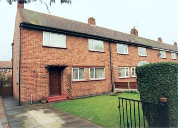 Thumbnail 3 bed end terrace house for sale in Quibell Road, Newark