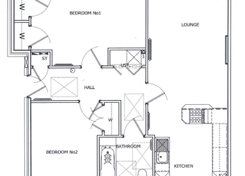 Thumbnail 2 bed flat for sale in Cumbernauld Road, Moodiesburn