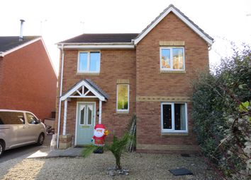 Thumbnail 4 bed detached house for sale in Maes Lindys, Rhoose, Barry