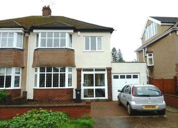 3 bed semi-detached house to rent in Barley Croft, Westbury On Trym, Bristol BS9