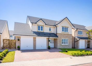 Thumbnail 4 bed detached house for sale in Bramble Crescent, Dunfermline