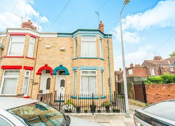Thumbnail 3 bedroom terraced house for sale in Dryden Street, Hull