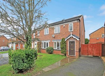 Thumbnail 3 bed semi-detached house for sale in Cresswell Court, Bowbrook, Shrewsbury