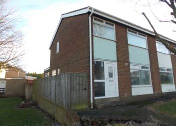 Thumbnail 3 bed semi-detached house to rent in Phillips Close, Haswell, County Durham