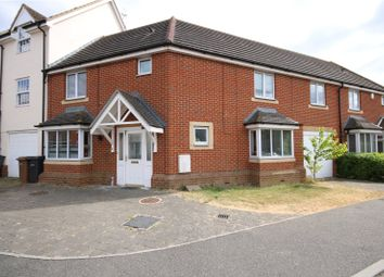 Thumbnail 4 bed terraced house for sale in Goodwin Close, Chelmsford, Essex