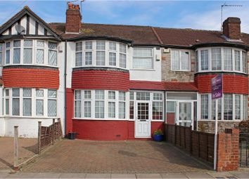 Thumbnail 3 bed terraced house for sale in Woodhouse Avenue, Greenford