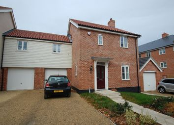 Thumbnail 3 bed link-detached house for sale in Brimstone Chase, Stanway, Colchester
