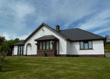 Thumbnail 3 bed detached bungalow for sale in Awel Teifi, Llechryd, Cardigan, Ceredigion