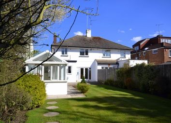 Thumbnail 3 bed semi-detached house to rent in Pyecombe Corner, Woodside Park, London