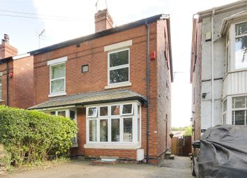 Thumbnail 4 bed semi-detached house for sale in Leonard Avenue, Sherwood, Nottinghamshire