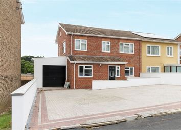Thumbnail 4 bed semi-detached house for sale in Chambers Avenue, Romsey, Hampshire