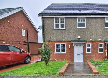 Thumbnail 3 bed semi-detached house for sale in Oak Road, Blaina, Abertillery
