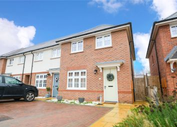 Thumbnail 3 bed end terrace house for sale in Boundary Drive, Amington, Tamworth, Staffordshire