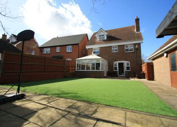 Thumbnail 5 bedroom detached house for sale in Hepburn Close, Chafford Hundred, Grays