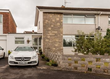 Thumbnail 5 bed link-detached house for sale in Woodland Avenue, Pencoed, Bridgend