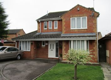 Thumbnail 5 bed detached house for sale in Sherwood Close, Corby