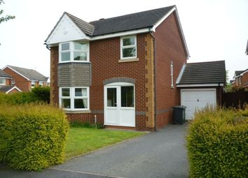 Thumbnail 4 bed detached house to rent in Nutkin Close, Loughborough, Charnwood
