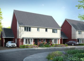 Thumbnail 3 bed semi-detached house for sale in Holborough Lakes, Snodland