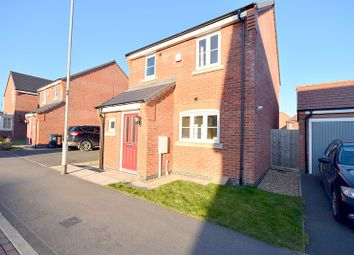 Thumbnail 3 bed detached house to rent in Aitken Way, Loughborough