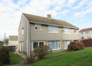 Thumbnail 3 bed semi-detached house for sale in Rhiwderyn Close, Michaelston-Super-Ely, Cardiff