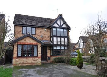 Thumbnail 4 bed detached house for sale in Leigh Drive, Elsenham, Bishops Stortford