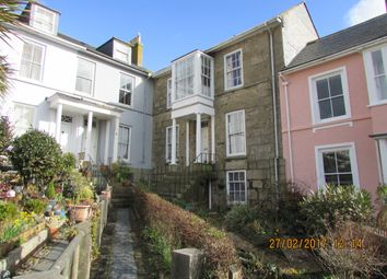 Thumbnail 1 bed flat to rent in Regent Terrace, Penzance