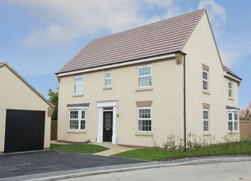 "Thumbnail 4 bed detached house for sale in ""Layton"" at Welbeck Avenue, Burbage, Hinckley"