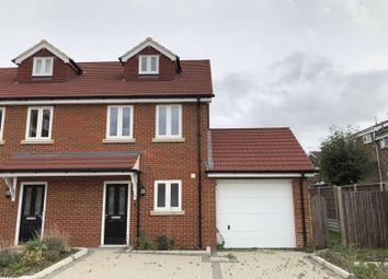 Thumbnail 3 bed semi-detached house to rent in Granary Close, Rainham, Gillingham