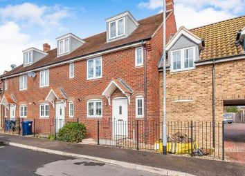 Thumbnail 4 bed terraced house for sale in Violet Way, Yaxley, Peterborough, Cambridgeshire