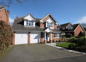 Thumbnail 4 bed detached house for sale in Checkley Lane, St Georges, Telford