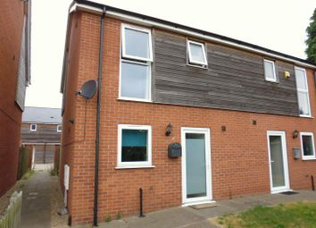 Thumbnail 2 bed semi-detached house for sale in Riseholme Road, Lincoln