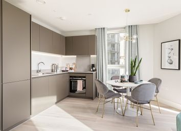 Thumbnail 1 bed flat for sale in Marshgate Lane, London