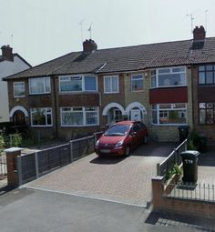 Thumbnail 3 bedroom terraced house to rent in 3 Bedroom, Unfurnished, Terraced House, Prince Of Wales Road, Coventry