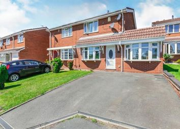 Thumbnail 4 bed semi-detached house for sale in Kington Close, Coppice Farm, Willenhall, West Midlands