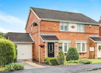 Thumbnail 2 bed semi-detached house for sale in Primrose Close, Annitsford, Cramlington