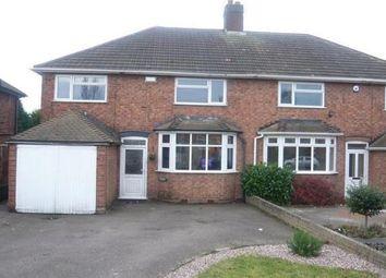 Thumbnail 3 bedroom property to rent in Hamstead Road, Great Barr, Birmingham