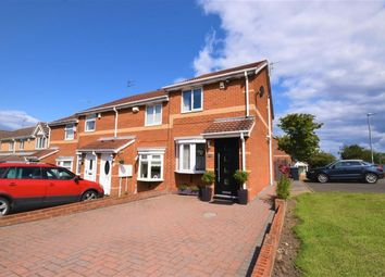 Thumbnail 2 bed end terrace house for sale in Lakemore, Peterlee, County Durham