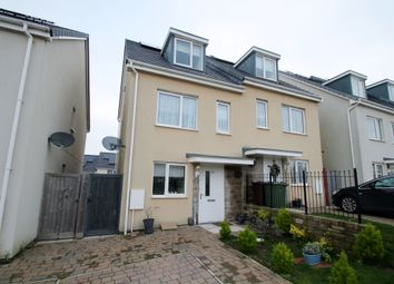 Thumbnail 4 bedroom semi-detached house for sale in Woodville Road, Plymouth