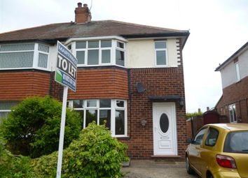 Thumbnail 3 bed semi-detached house to rent in Hillsway Crescent, Mansfield