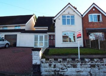 Thumbnail 3 bed semi-detached house for sale in West Bromwich Road, Walsall, West Midlands