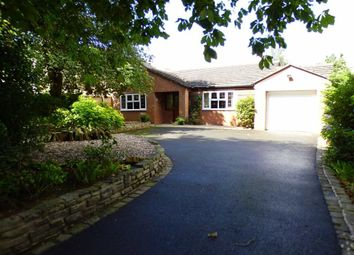 Thumbnail 3 bed detached bungalow for sale in Cross Road, Haslington, Crewe