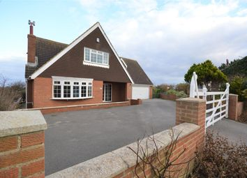Thumbnail 4 bed detached house for sale in Gap Road, Hunmanby Gap, Filey