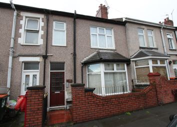 Thumbnail 3 bed terraced house for sale in Arundel Road, Newport